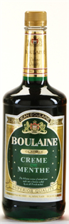 Boulaine Creme de Menthe Green 1.00l - Case of 12
